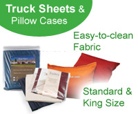 Truck Sheets and Pillow Cases