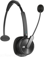 Wireless 4x Noise Canceling Headset w/Bluetooth