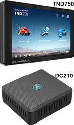 Rand McNally ELD Special: 1 TND750 GPS and 1 DC200S
