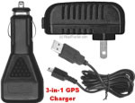 Rand McNally 3-In-1 Universal GPS Charger