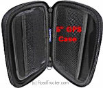 "Rand McNally Zippered Hard Case for 5"" GPS"