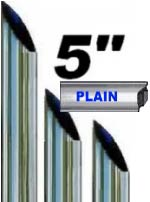"5"" Miter Cut Chrome Stacks - 20% Off"